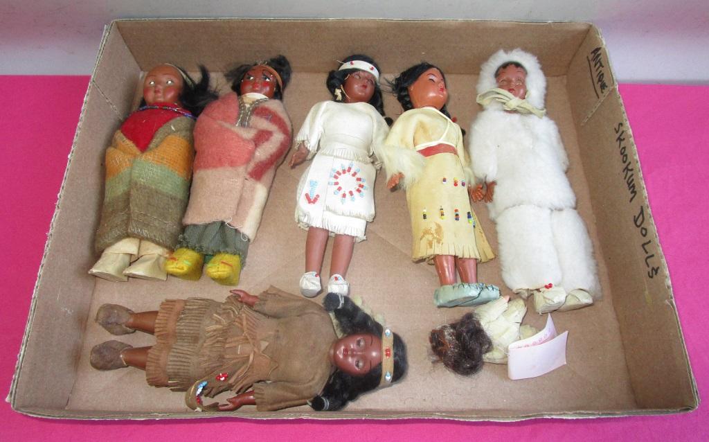 Antique Skookum Dolls
