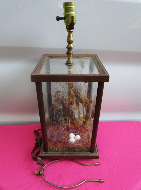 Grouse Lamp