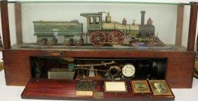 Charles Vedder Folk Art Train