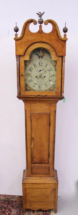 John Eberman Tall Case Clock (Lancaster)
