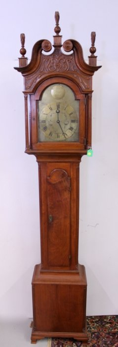 John Nicholl Tall Case Clock (Belvidere, NJ)