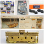 On-Line ONLY Auction:  Toys, Planes, Trains & Model Kits