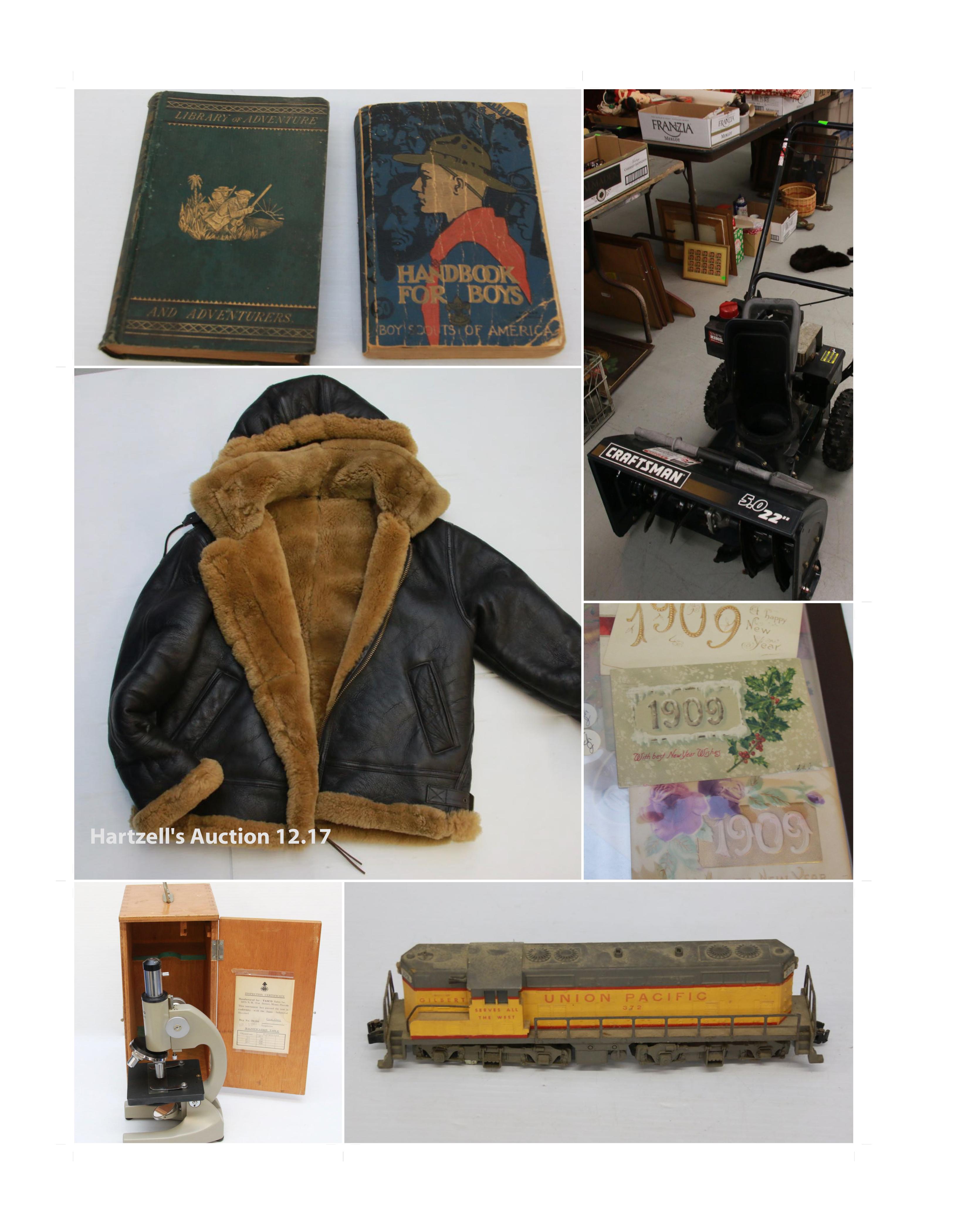 Tools, Trains, Restaurant Items, & More….