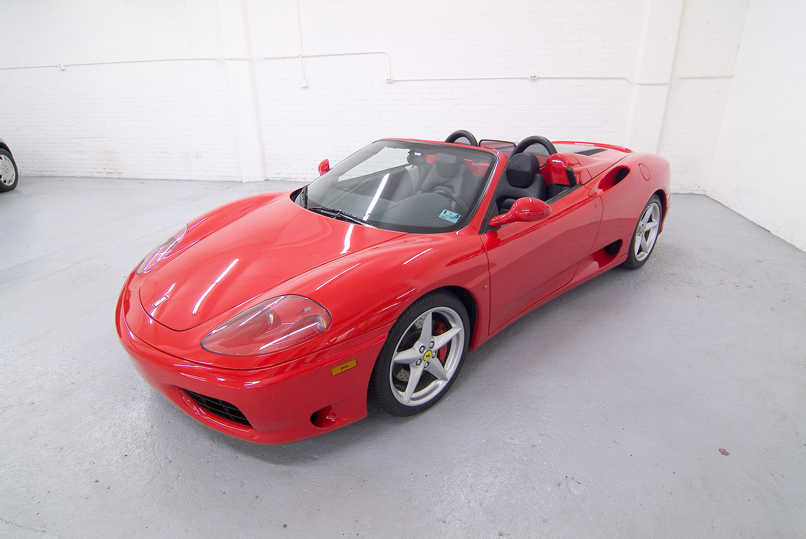 2001 Ferrari 360 Modena F1 Spider Convertible IRS-CI Seizure From Ringleader Of An Illegal Internet Pharmacy