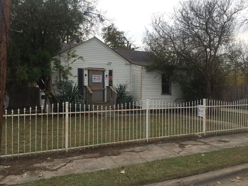 US Treasury Home In Dallas, TX (Copeland St) Online Auction
