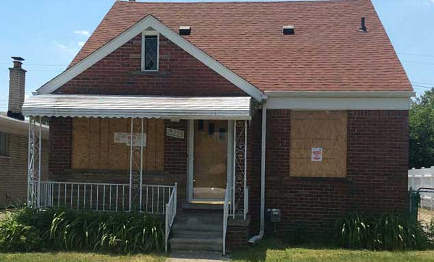 Online Auction: Single Family Home In Eastpointe, MI