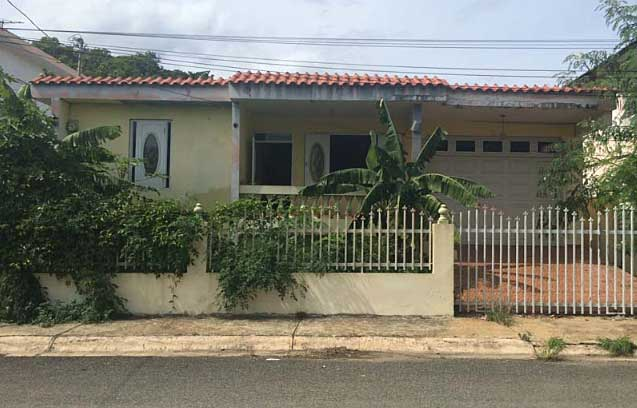 Online Auction: Single Family Home In Aguadilla, PR