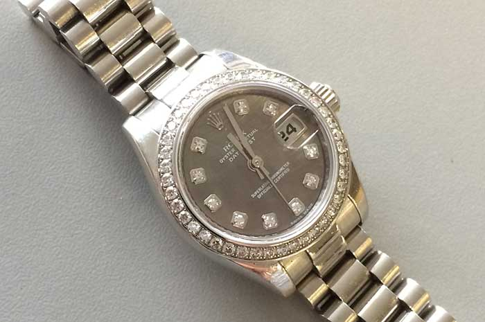 Rolex Watch Cropped