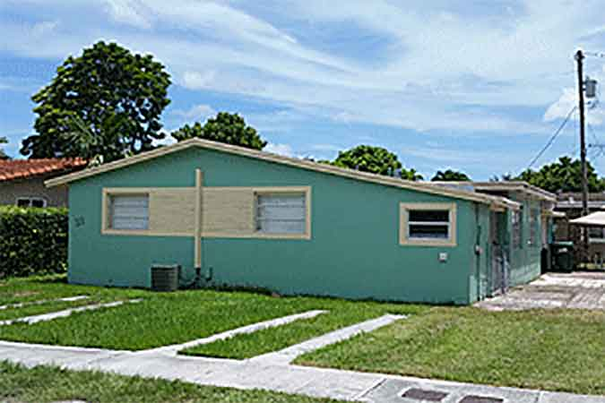 Live Auction: Residential Duplex In Miami, FL