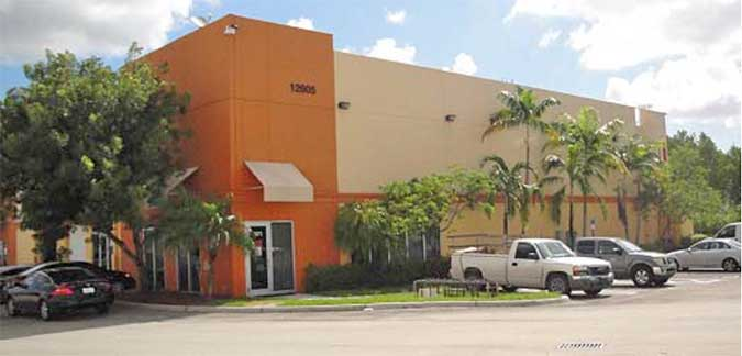 Live Auction: Office/Warehouse In Medley, FL