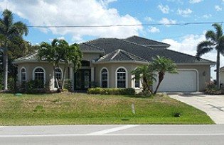 Live Auction: Single Family Home In Cape Coral, FL