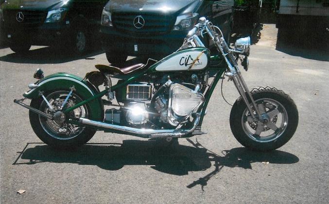 U.S. Marshals OCC Custom Motorcycle Online Auction (Apr 24-25)