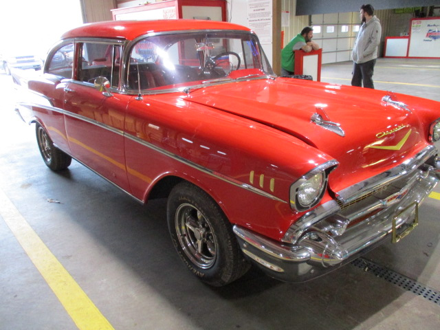 U.S. Marshals 1957 Chevrolet Bel Air Online Auction (May 15-16)