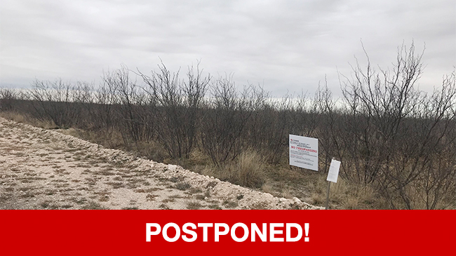 POSTPONED – Live Auction: Vacant Land (46.14 Acres In Bates Airport Subdivision) In Midland, Texas