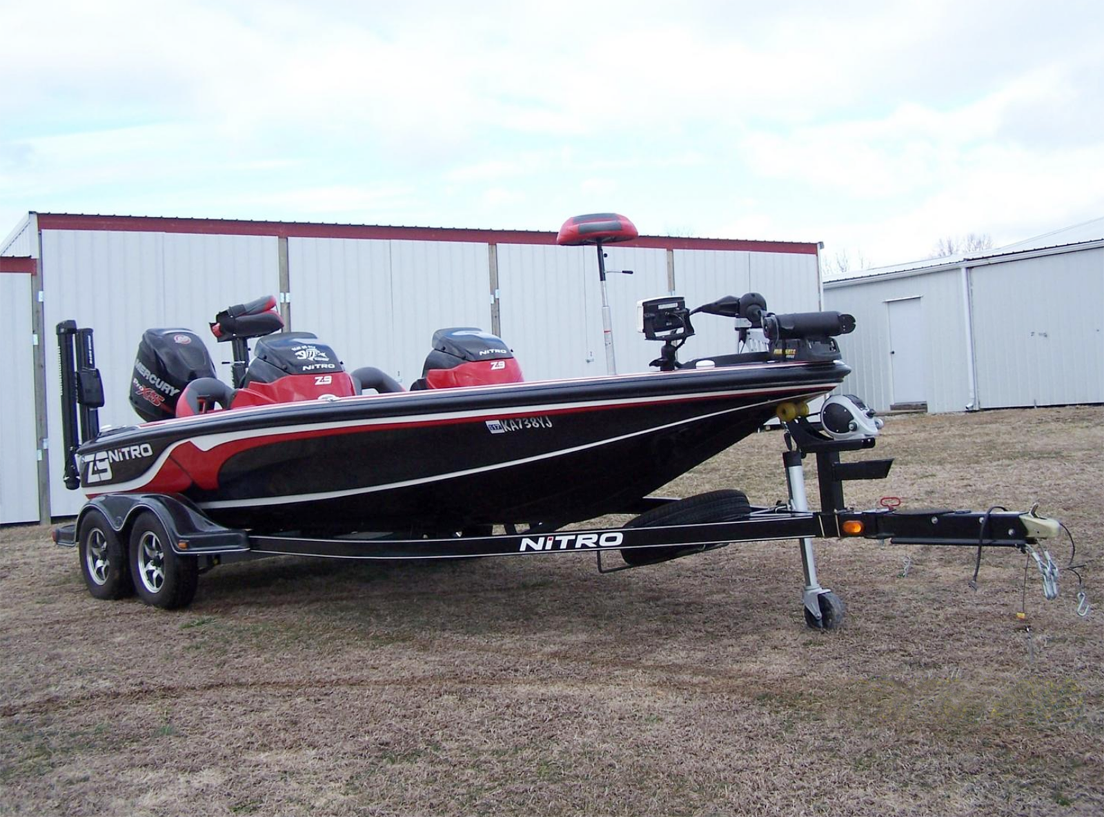 2014 Nitro Z9 SC W/ 250 Mercury Engine