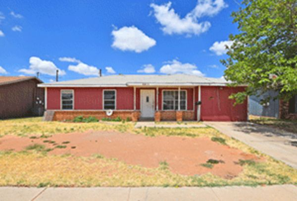 Online Auction: Single Family Home 4611 N. Jackson Ave. In Odessa, TX