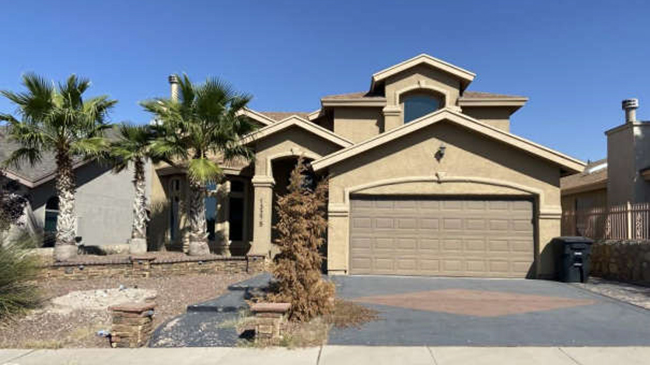 Online Auction: Single Family Home 13275 Emerald Hills Street, El Paso, TX