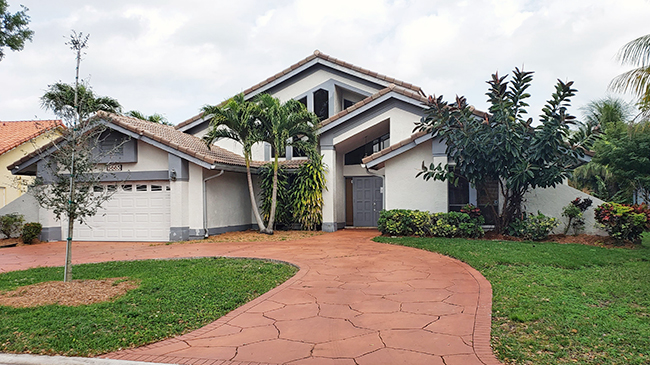 Online Auction: Single Family Home 5665 NW 88th Terrace, Coral Springs, FL
