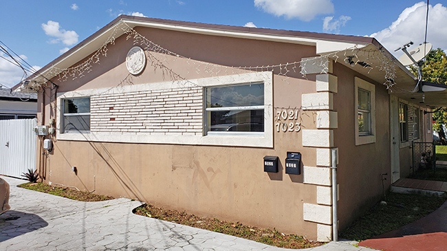 Online Auction: Residential Duplex 7021-7023 SW 22nd St, Miami, FL