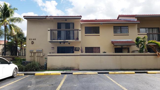 Online Auction: Condominium 6246 SW 136th Court, Unit 201, Miami, FL