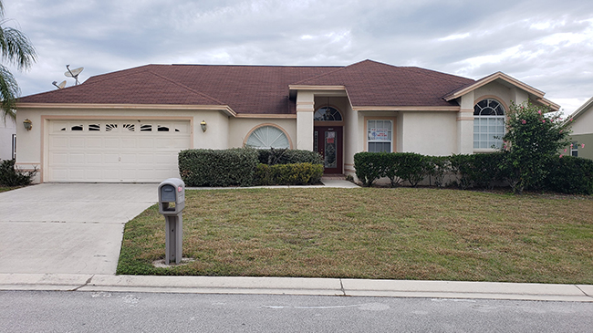 Online Auction: Single Family Home 4114 Baywater Place, Lakeland, FL