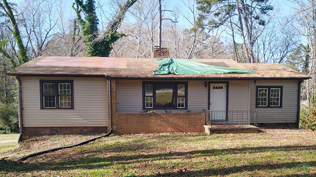 Online Auction: Single Family Home 3211 Cleveland Hwy, Gainesville, GA