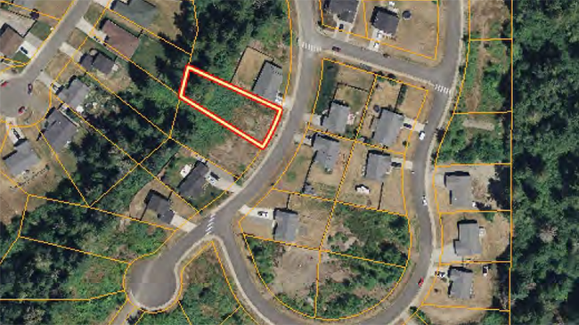 Online Auction: Vacant Land 701 Myers Street SE- Lot 75, Rainier, WA
