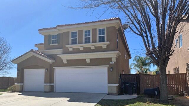Online Auction: Single Family Home 1411 Scenic Court, Perris, CA