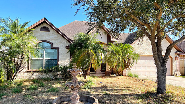 Online Auction: Single Family Home 6752 Pino Verde, Brownsville, TX