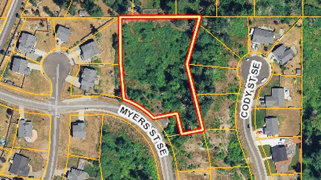 Online Auction: Vacant Land 602 Myers Street SE Lot 92 Rainier WA
