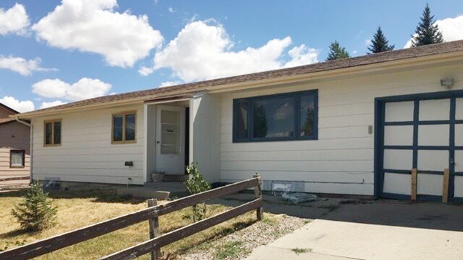 Online Auction: Single Family Home 2141 Thorndike Ave, Casper, WY