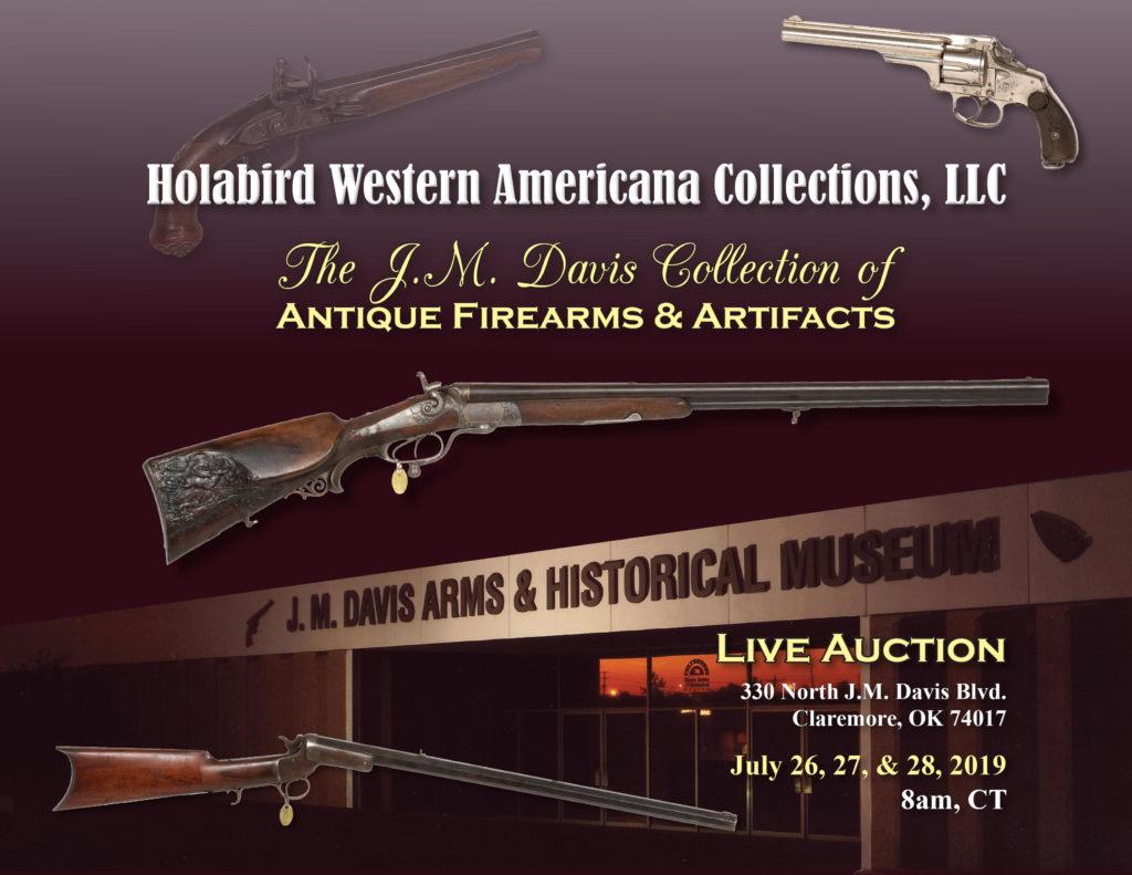 J M  Davis Foundation Antique Firearms Auction – Holabird