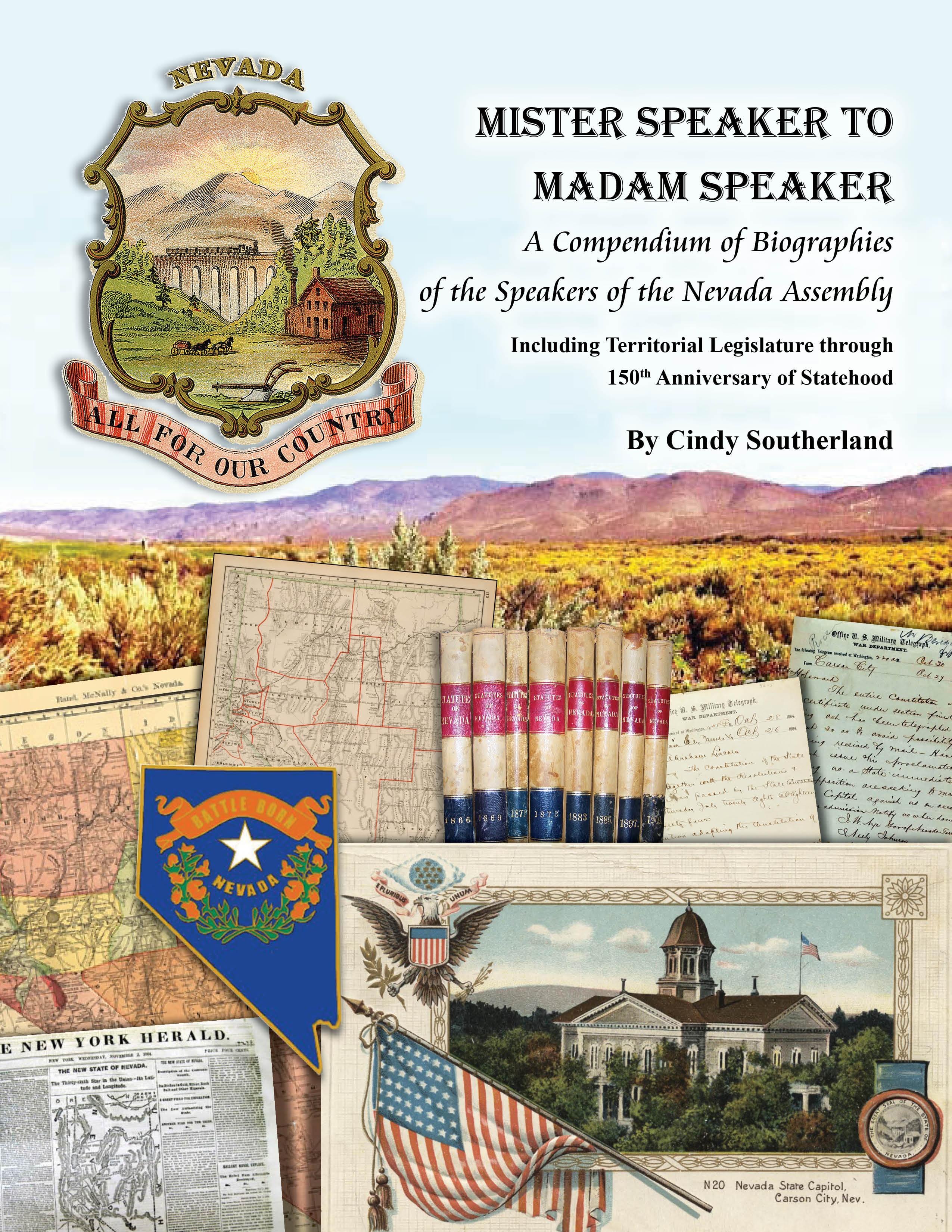 Mister Speaker To Madam Speaker Biographies Of The Nevada Assembly Speakers