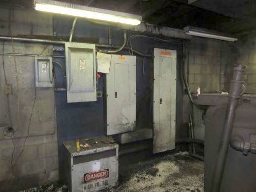 Foundry Building Interior Electrical Panels