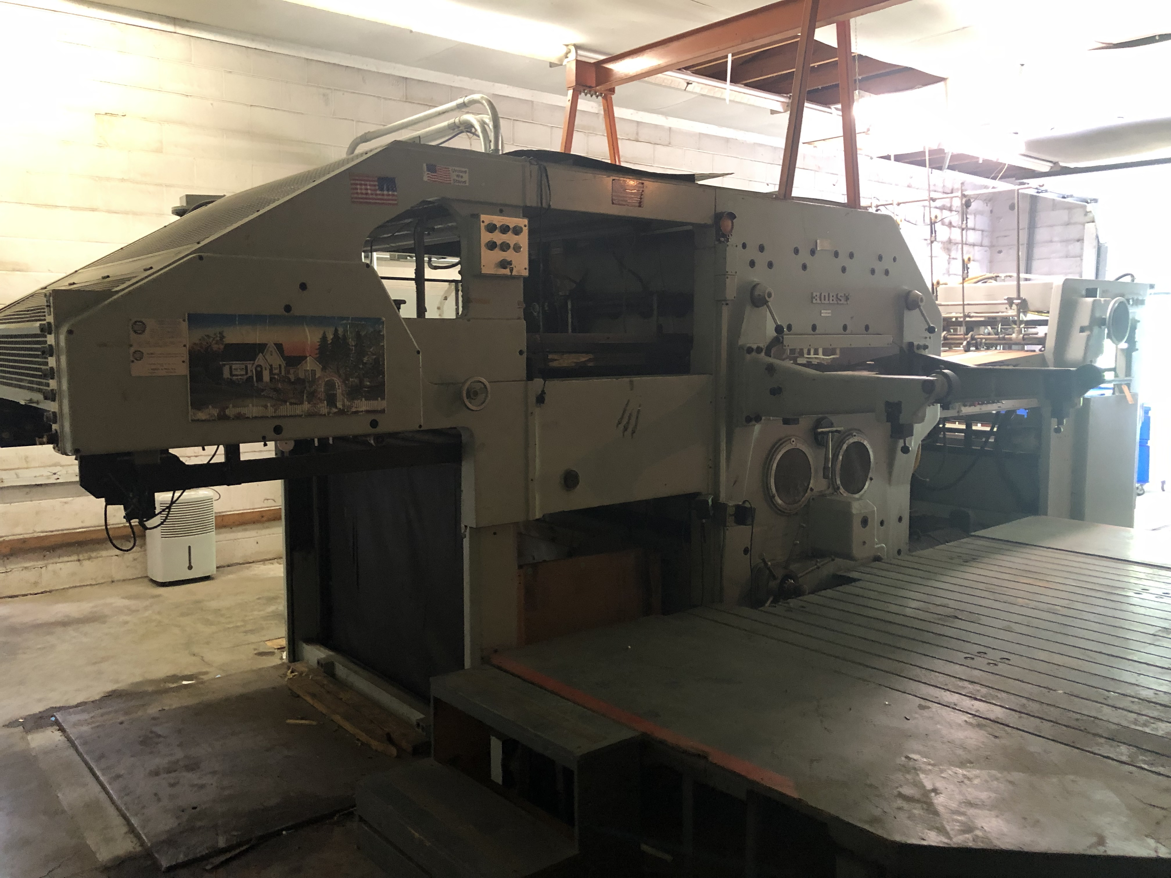 Die Cutting & Print Equipment Online Auction In Indianapolis, IN