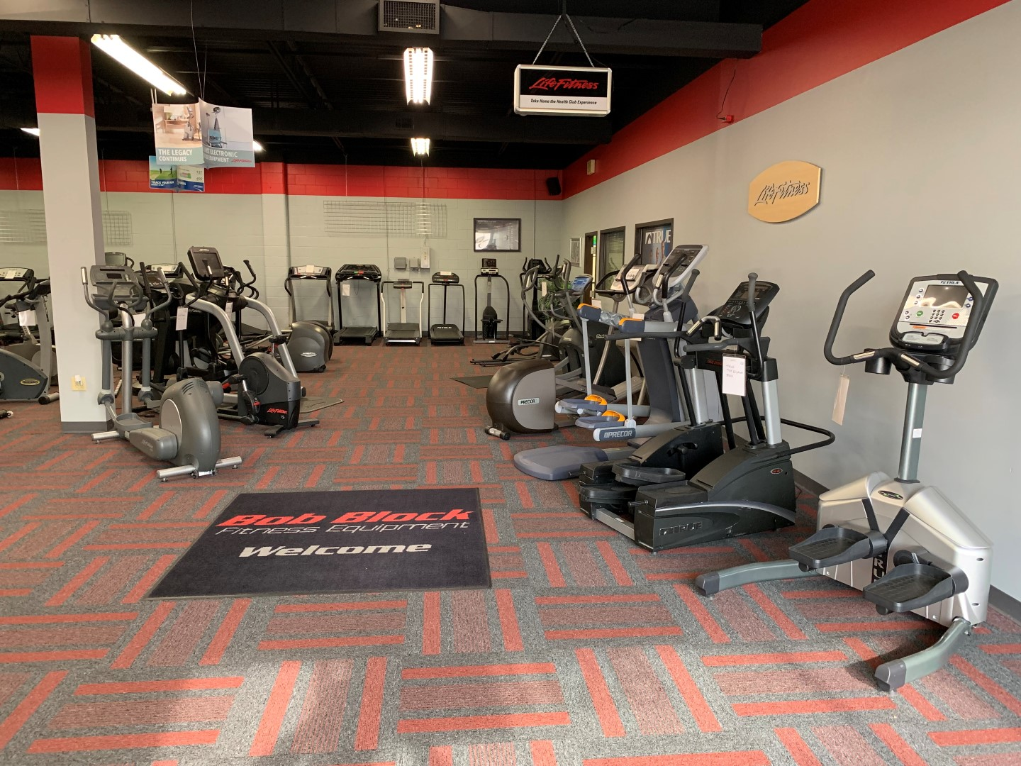 Fitness Equipment & Service Parts Online Auction in
