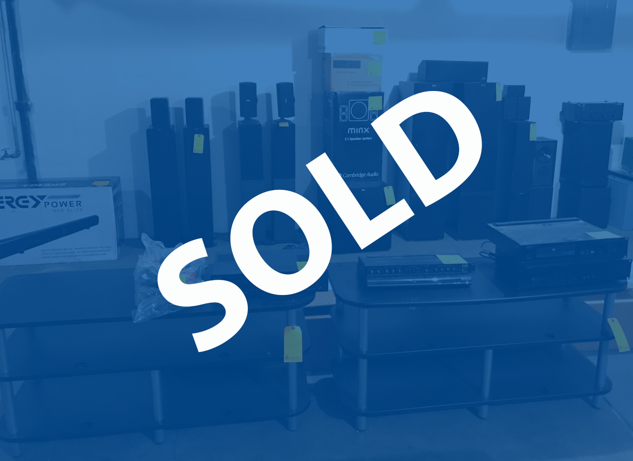 Home Theater Equipment & Electronics Online Auction In Terre Haute, IN
