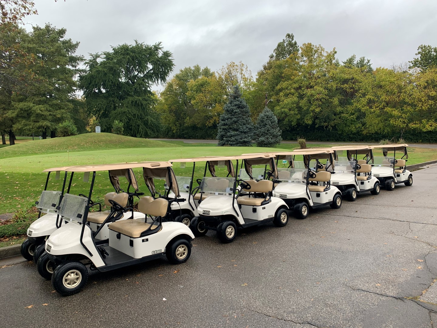 Riverside Golf Course Maintenance Equipment & Golf Carts Auction In Indianapolis, IN