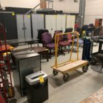 Packaging Equipment, Work Tables & Office Furniture Online Auction In Indianapolis, IN