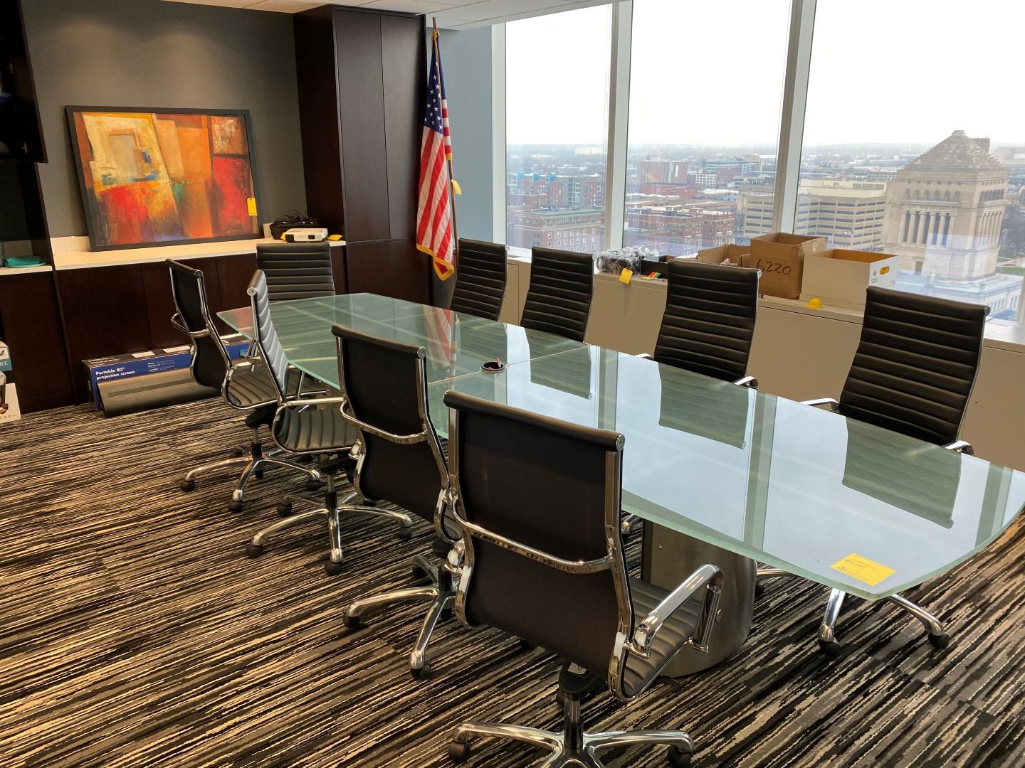 Downtown Indianapolis Office Furniture Online Auction
