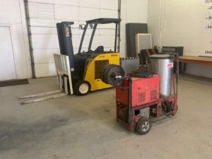 Semi Trailers, Yale Forklift & Hotsy Power Washer Online Auction