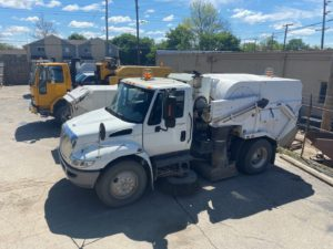 Tymco Sweepers & Trucks Online Auction In Indianapolis, IN