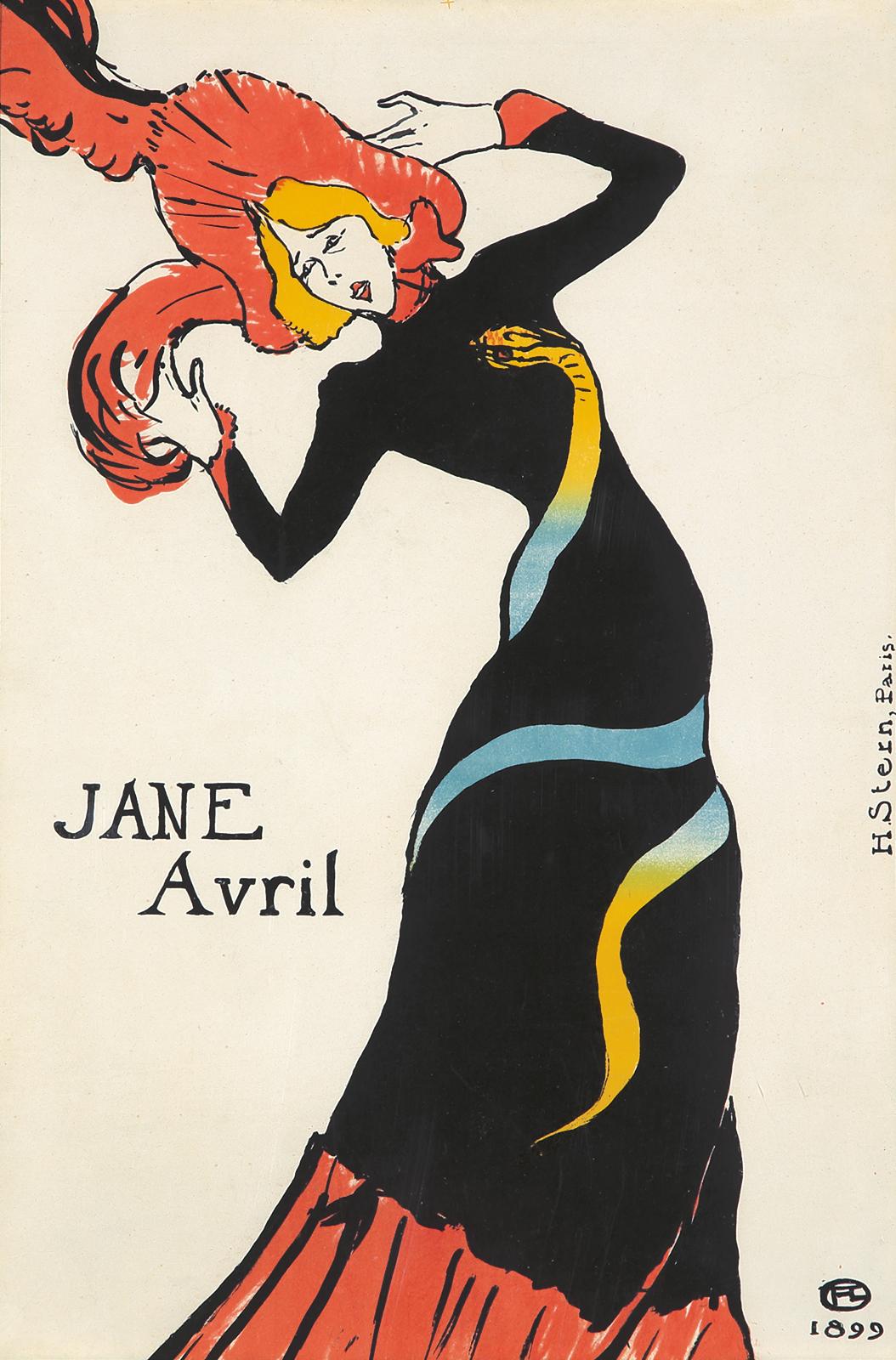 378. Jane Avril. 1899.