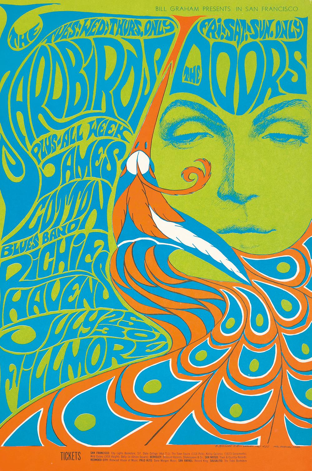 135. The Yardbirds and the Doors. 1967.