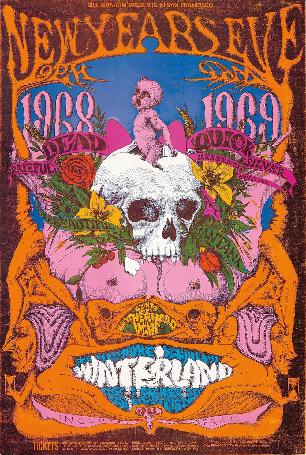 140. New Year's Eve / Grateful Dead / Quicksilver Messenger Service. 1968.