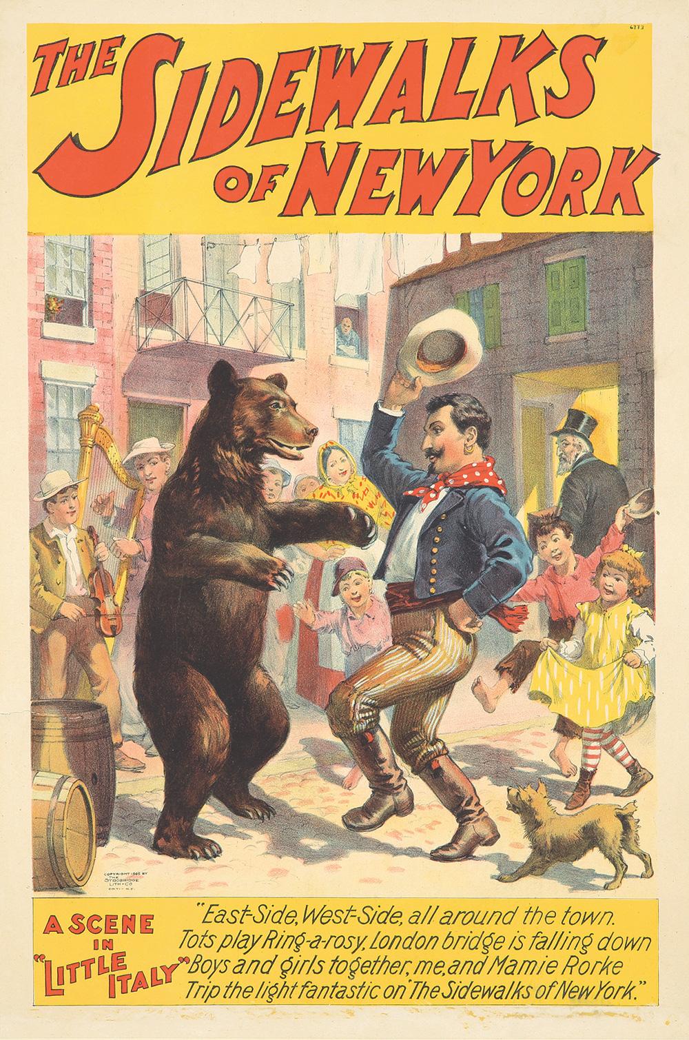 162. The Sidewalks of New York. 1895.