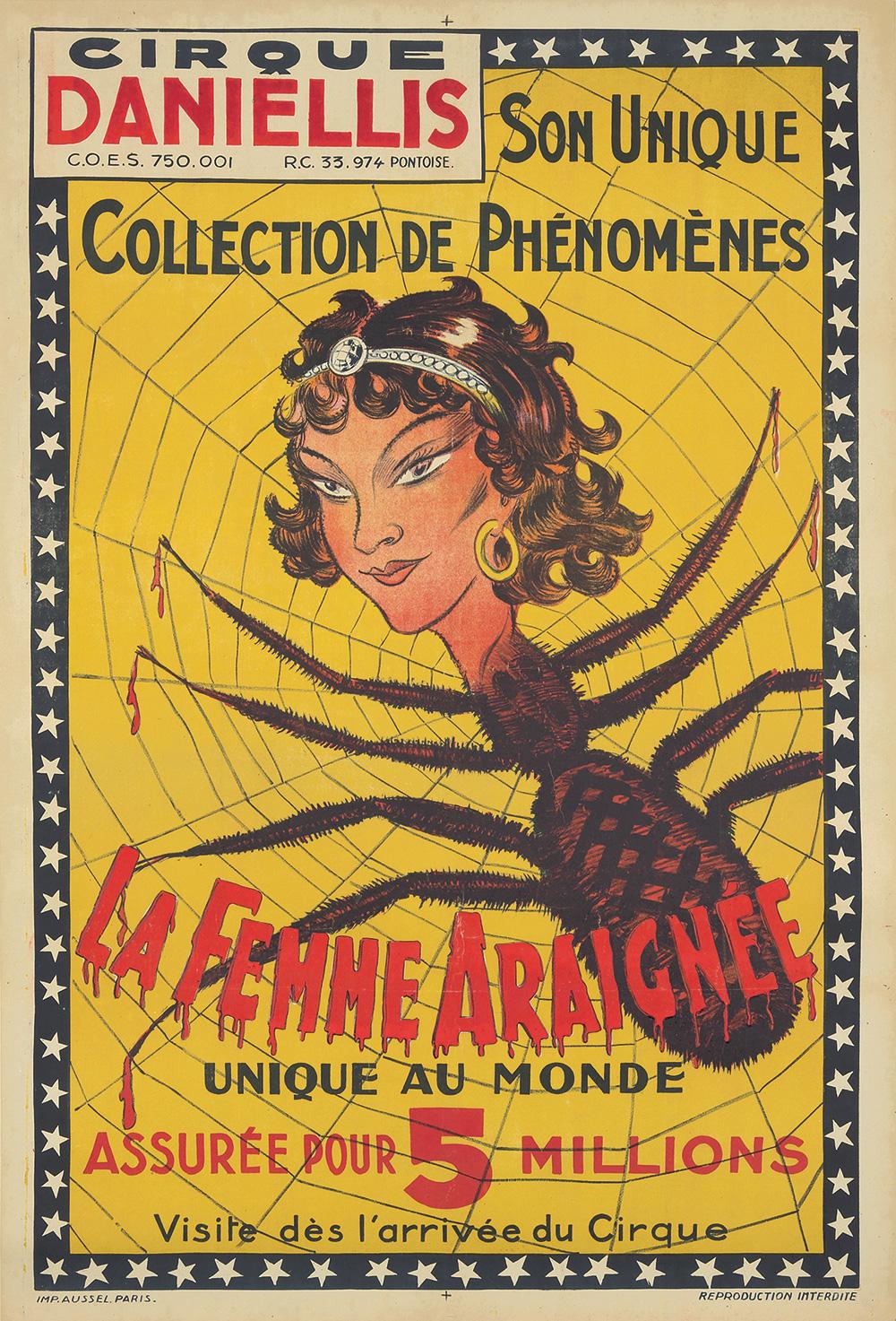 182. La Femme Araignée.