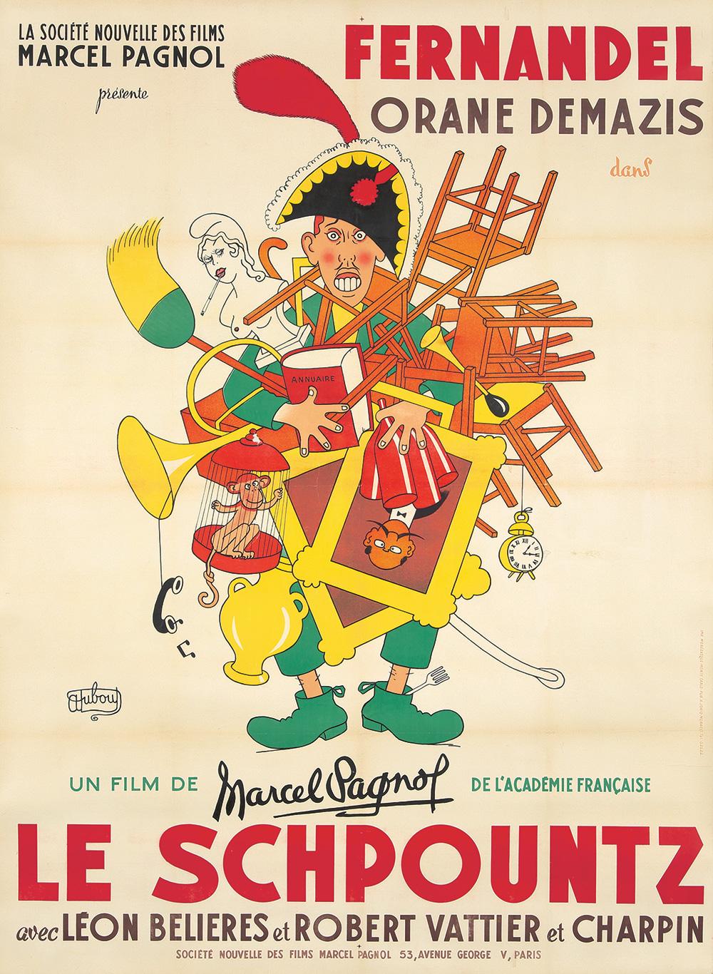 271. Le Schpountz/Fernandel. 1952.