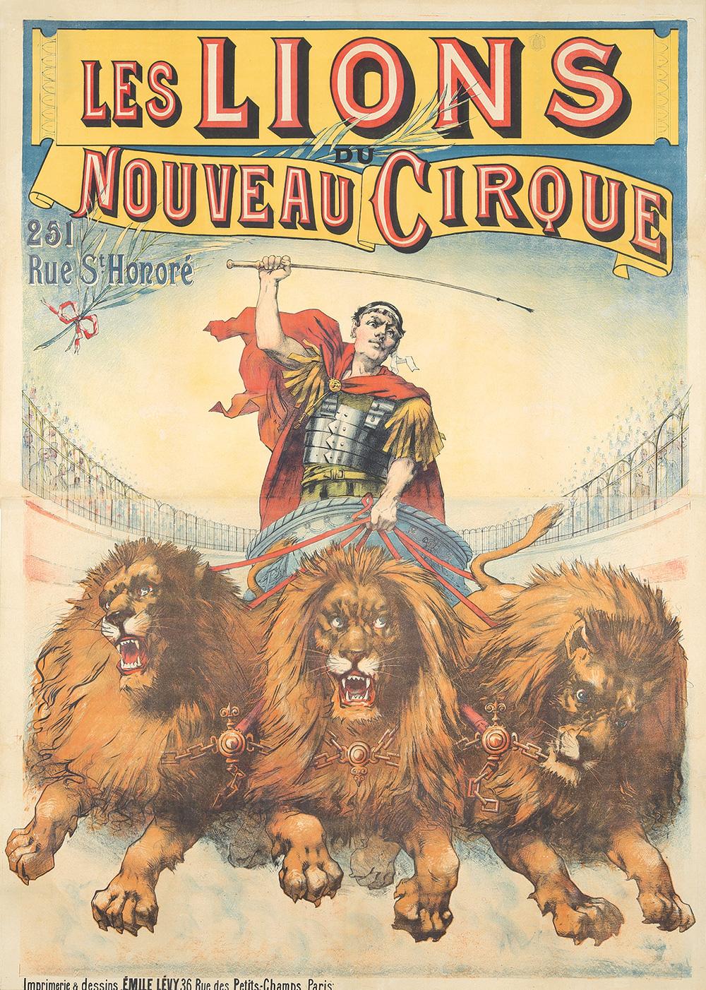 344. Les Lions / Nouveau Cirque. 1899.