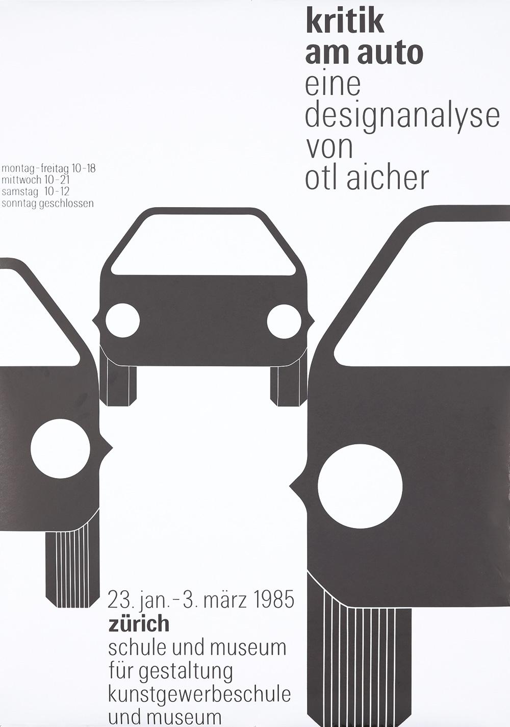 45. Kritic am Auto. 1985.